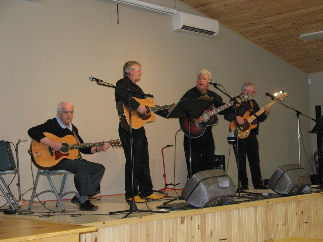 Fred Arsenault, Claude Simpson, John Gallant and Jack Darrach